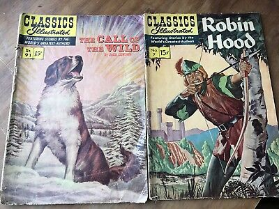 classics illustrated comics lot