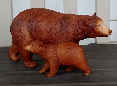 Breyer 1987 Cinnamon Bear and Cub. #3069. New!