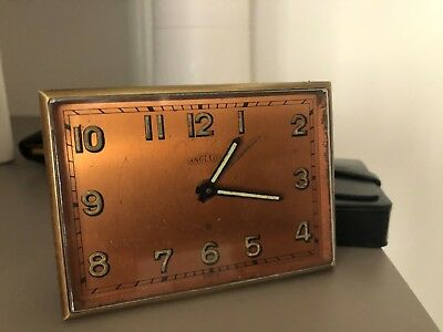 Angelus 8 days Cal.190 Alarm Sveglia Montre table Desk clock watch
