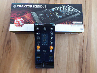 Native Instruments Traktor Kontrol Z1 inkl.Traktor Pro 2 Software