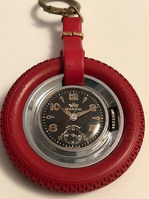 Marvin Wheel Ruota Pocket Watch Orologio Original Very Rare Vintage