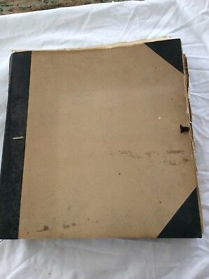ANTIQUE LACE CROCHET Embroidered SAMPLE BOOK  53 Pages 1800'S Scrapbook