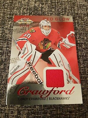 2013-14 Fleer Red Glow Jersey Cory Crawford 21/36