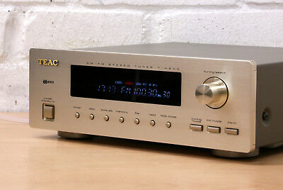 TEAC T-H500 Hi-Fi stereo TUNER radio Japan reference 500 FM AM 99p No reserve