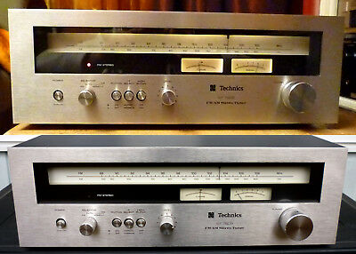 Technics ST 7600 Stereo Tuner High-End TOP Zustand im Holzgehäuse Made in Japan