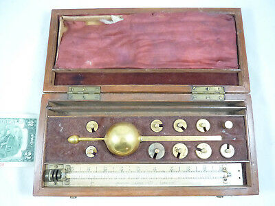 Sikes' Hydrometer W. Reeves & Co. London w/ Weights