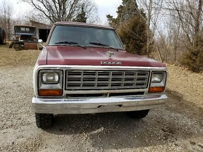 1985 Dodge Ramcharger  1985 dodge ramcharger