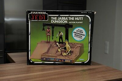 Vintage Star Wars Jabba the Hutt Dungeon Playset Sears Exclusiv