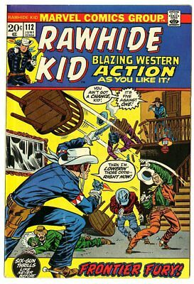 Rawhide Kid #112 VF- 7.5 off-white pages  Marvel  1973  No Reserve