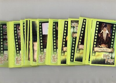 Harry Potter And The Sorcerers Stone  Cinimascope    Full Set of Trading Cards