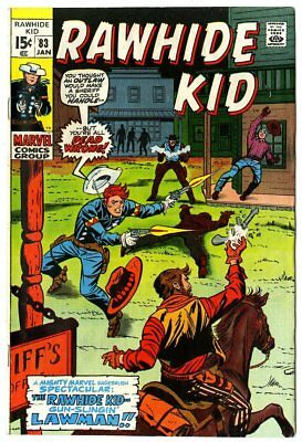 Rawhide Kid #83 NM- 9.2 white pages  Marvel  1971  No Reserve