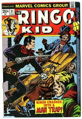 Ringo Kid #21 NM- 9.2 off-white pages  Marvel  1973  No Reserve