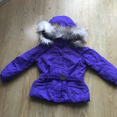 Poivre Blanc Kids Purple Ski Jacket Coat