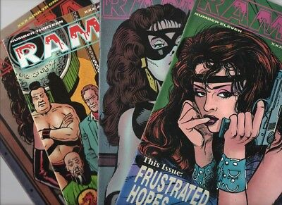 Four Issues of 'RAMBA' - Nos 11, 12, 13 & 14 - 1994