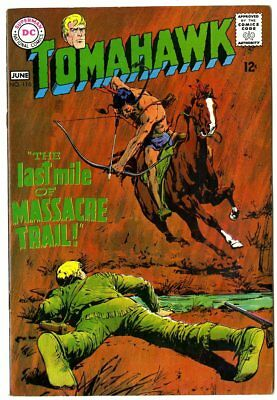 Tomahawk #116 NM- 9.2 white pages  1st Neal Adams cover  DC  1968  No Reserve