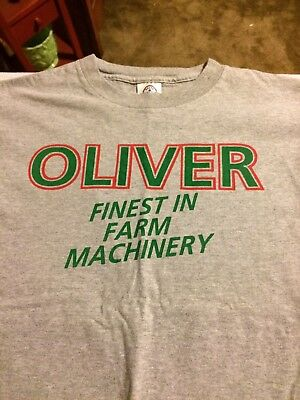 oliver tractor shirt