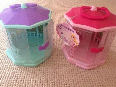 Disney Sleeping Beauty And Little Mermaid Gazebo Play Set - Carry Cases Only