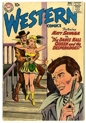 Western Comics #85 VG- 3.5 ow/white pages  Wyoming Kid  DC  1961  No Reserve