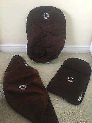 Bugaboo Cameleon Fabric Set In Brown