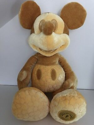Disney Store Mickey Mouse Memories Plush Soft Toy February 2/12 Limited Edition