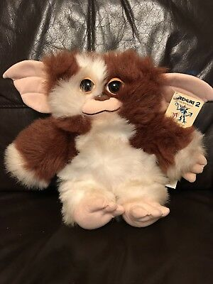"""Gremlins 2 Movie Plush Toy Large 12"""" With Tag 1998 Downpace Ltd Gizmo"""