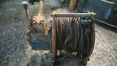 Pneumatic Air powered Heavy Duty Winch Hoist,Convert to Hydraulic? Project