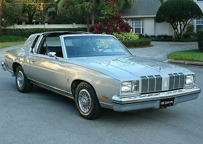 1978 Oldsmobile Cutlass Supreme ONE OWNER TTOP SURVIVOR -1978 Oldsmobile Cutlass Supreme Brougham - 65K MI