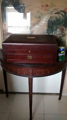 Antique Wood Chest for Gorham Chantilly Sterling Flatware RARE! - BEAUTIFUL!