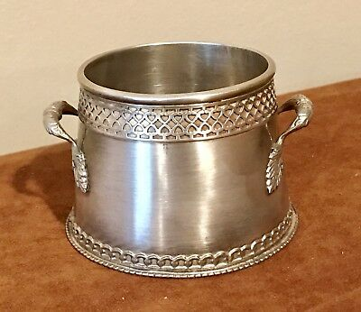 Genuine Russian Imperial 1889 Silver 84 A.Romanov Faberge Sugar Bowl Excellent