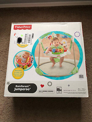 Fisher-Price K7198 Rainforest Jumperoo BRAND NEW IN BOX