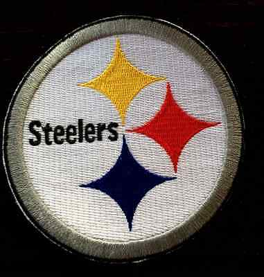 """New Pittsburgh Steelers 4"""" Inch  Iron on Patch Free Shipping"""