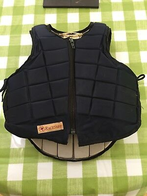 racesafe body protector childs size m