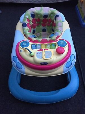 Baby Walker With removable Activity Centre And Washable Seat Cover
