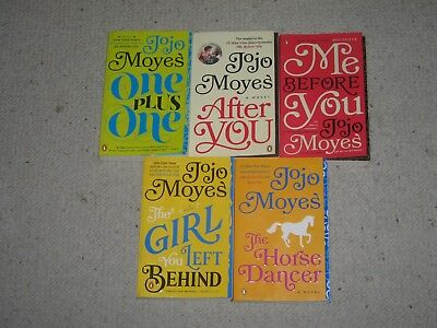 5 Jojo Moyes Trade Soft Covers After You~Me Before You~One Plus One FREE SHIP!!