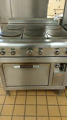 Commercial Electric Six Burner  Stove