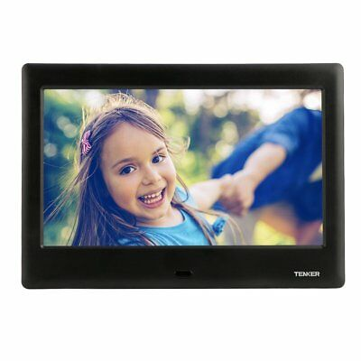 TENKER 10-inch HD Digital Photo Frame IPS LCD Screen with Auto-Rotate