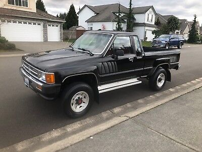1987 Toyota Other SR5 LOW MILES 4X4 TOYOTA TACOMA 1987 TOYOTA EXT CAB  PICKUP SR5 22RE  LOW MILES