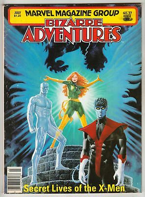 Bizarre Adventures Magazine #25 March 1981 Marvel Daughters Of The Dragon