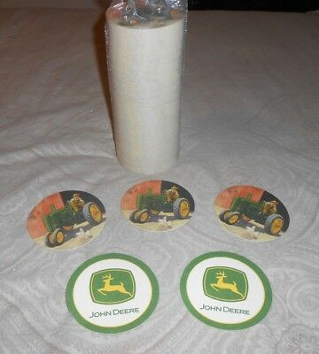 John Deere Coasters Absorbent Beverage Collectible Barware New Set Lot 250 +