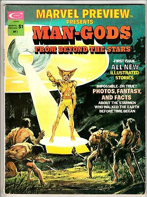 Marvel Preview Presents #1 1975 Marvel Man-Gods Neal Adams Cover