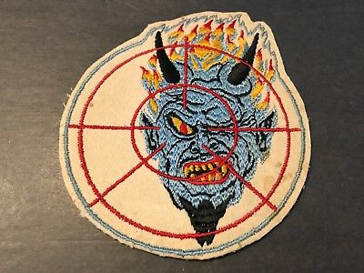 WWII/WW2 US AIR NAVY PATCH VF-74, Fighter Squadron 74, Be-Devilers  ORIGINAL!USN