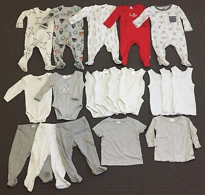 Baby Boys Clothes Size 00: Onsies, Singlets, Shirts & Pants