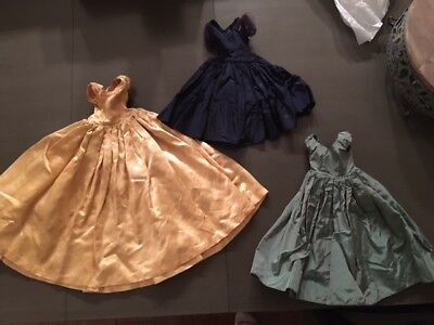 Vintage Madame Alexander Cissy Doll Dress Lot Clothes Outfit 1950's Tagged