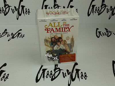ALL IN THE FAMILY Complete Series 1-9 ☆ SEASONS 1,2,3,4,5,6,7,8 & 9 DVD BOX SET