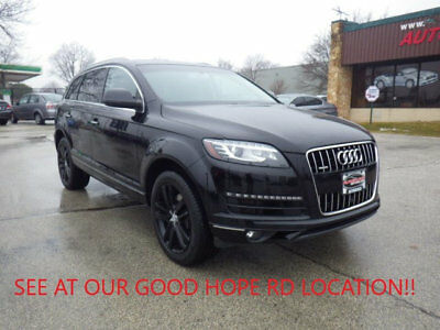 2014 Audi Q7 TDI PREMIUM PLUS 2014 AUDI Q7 TDI DIESEL 1 OWNER LOW MILES FACTORY WARRANTY LOADED 7 PASSENGER!!!