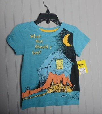Dr Suess What Pet Should I get T-Shirt Tee Funny Youth Toddler 12 Months