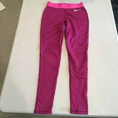 Nike Pro Womens Pink Active Leggings Size Extra Small XS