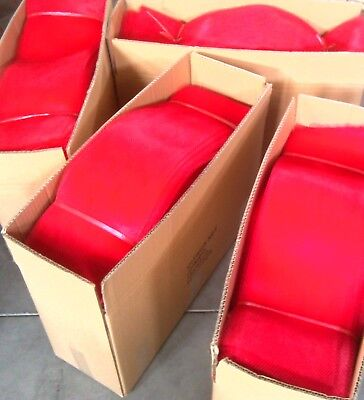 Onion or Fruit bags, Foodgrade RED 62cm long, 17cm wide,Open both ends, 1000pcs