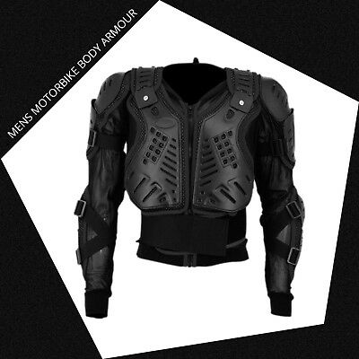 Bikers Body Armour Motorcycle Motorbike Protectors Guard Motocross Safety Jacket