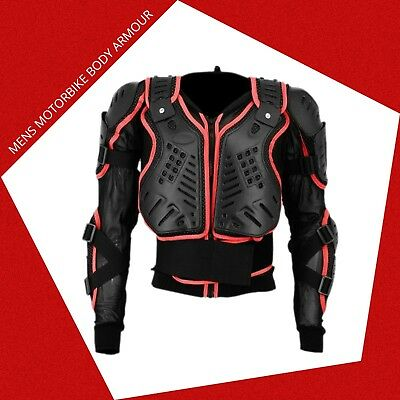 New Adult Motorcycle Motor Bike Body Armor Racing Jacket Limited Time Offer Sale